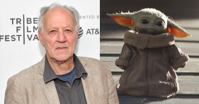 The Mandalorian\'s Werner Herzog treated Baby Yoda like a real person on set