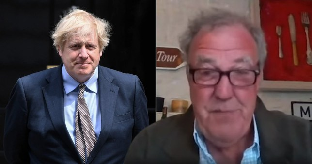 Jeremy Clarkson and Boris Johnson