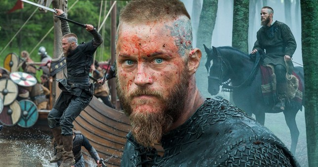 Vikings star Travis Fimmel as Ragnar Lothbrok