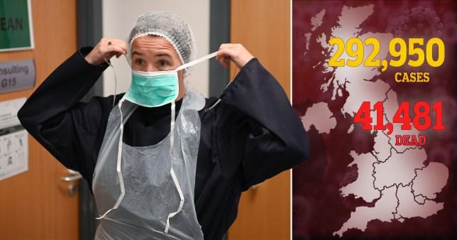 UK coronavirus death toll, 12/06/2020