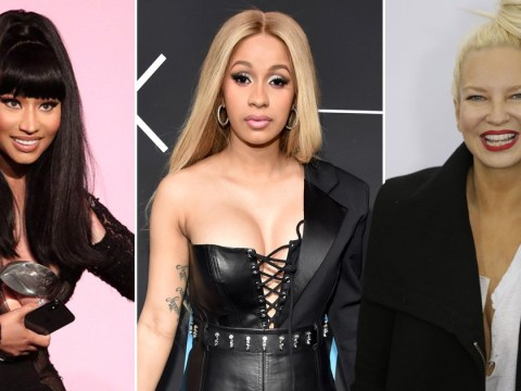 Sia apologises for mixing up Nicki Minaj and Cardi B and 'making a buffoon of herself'