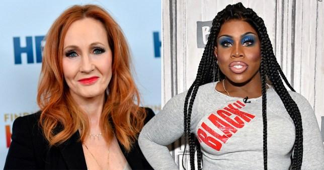 Drag Race star Monet X Change and JK Rowling