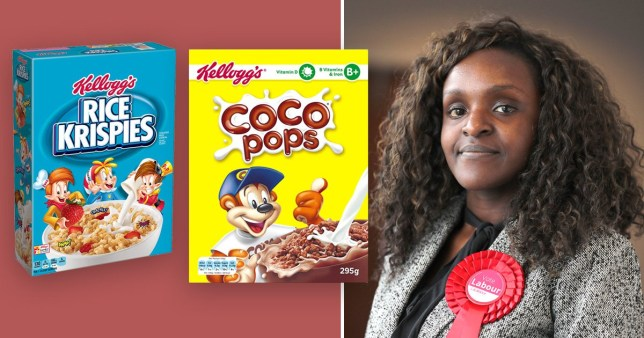 Fiona Onasanya argued that Rise Krispies have three white boys representing the product while a monkey is the mascot for Coco Pops