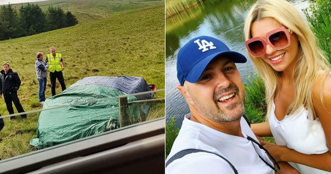 Paddy McGuinness' wife Christine and his Top Gear crash