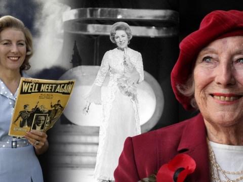 Forces' Sweetheart Dame Vera Lynn dies aged 103