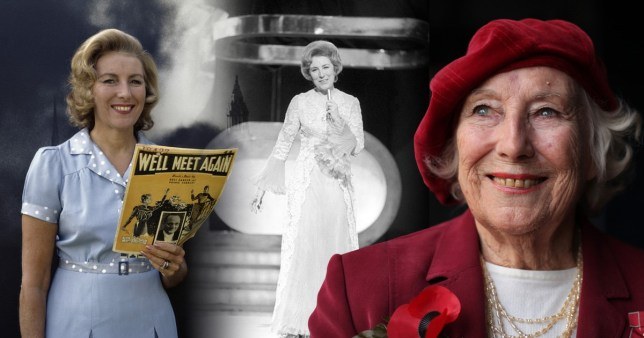 Dame Vera Lynn throughout the years