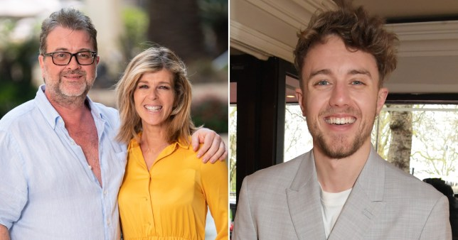 Kate Garraway, her husband Derek Draper, and Roman Kemp