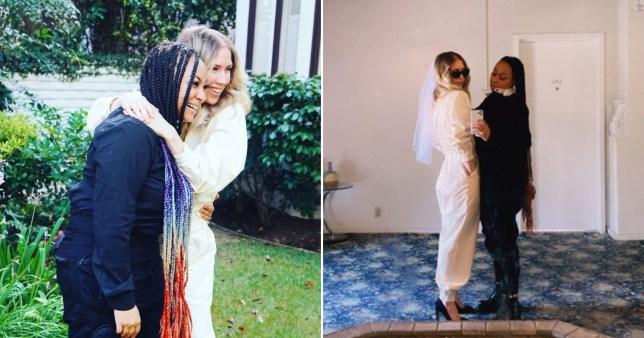 Raven-Symone marries girlfriend Miranda Maday in surprise ceremony