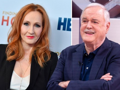 John Cleese 'baffled' by criticism of JK Rowling's comments on transgender people