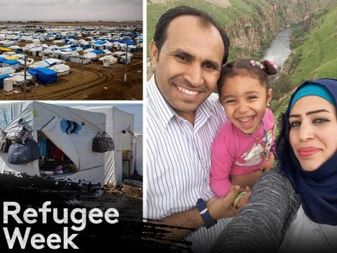 Family stuck in refugee camp seven years after fleeing home for life-saving chemo