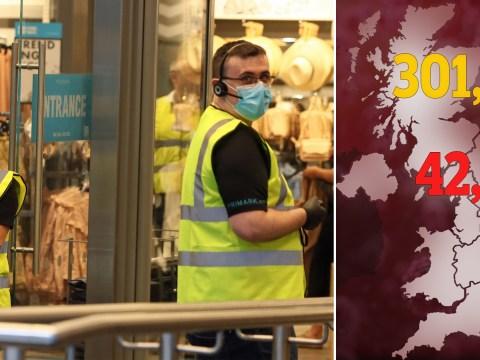 Another 173 people die of coronavirus in UK bringing total number to 42,461
