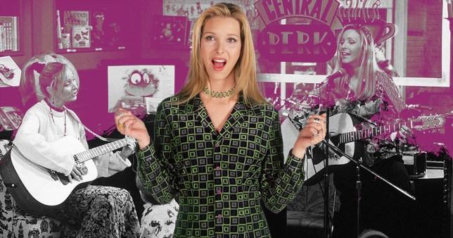 Friends' Phoebe Buffay (Lisa Kudrow)