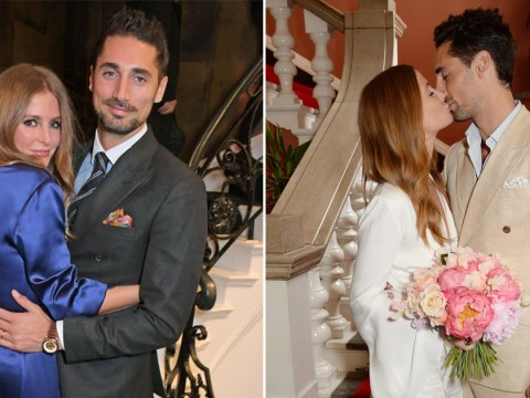 Millie Mackintosh loves Hugo Taylor 'more each day' as they celebrate two years of marriage