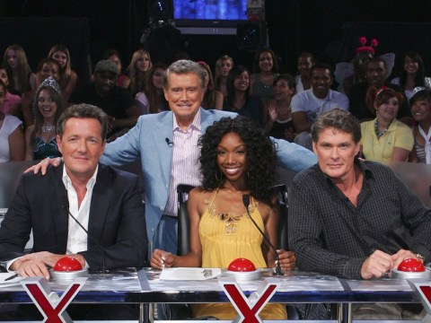 Piers Morgan celebrates Simon Cowell's 'worldwide franchise' as he marks 14 years of America's Got Talent