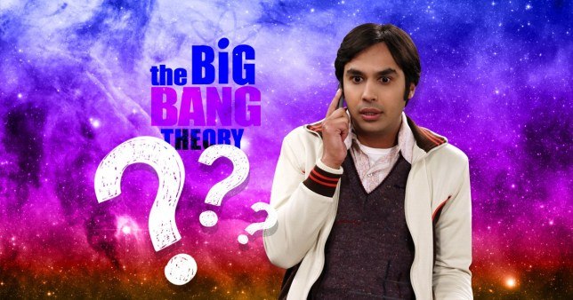big bang theory raj quiz