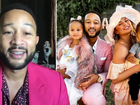 John Legend says Chrissy Teigen is 'still a little sore' after breast surgery but their kids have been helping with her recovery