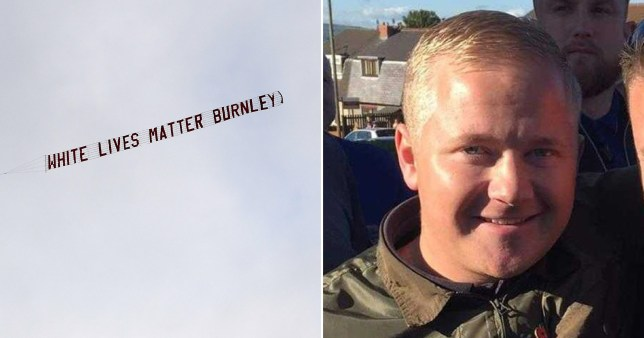 Burnley fan Jake Hepple has claimed responsibility for the banner flown over Burnley's match against Manchester City