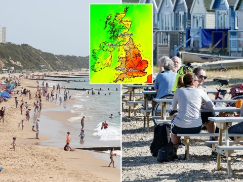 Heat map reveals areas of UK to be hit by mini-heatwave