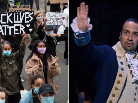 Lin-Manuel Miranda 'overwhelmed' to see Hamilton resonate with people amid Black Lives Matter protests