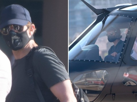 Tom Cruise proves no mission is impossible as he perfectly lands helicopter in London