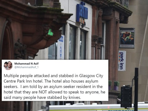 Hotel at centre of Glasgow stabbing was housing asylum seekers