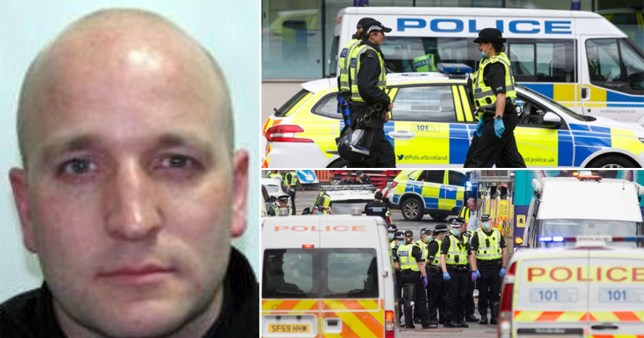 Hero cop stabbed in Glasgow attack describes 'scene I'll never forget'