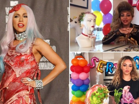 Little Mix star Jade Thirlwall recreates Lady Gaga's iconic meat dress look in new show Served!