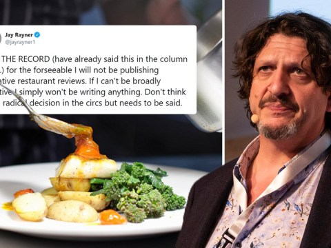Food critic won't give bad reviews when restaurants reopen