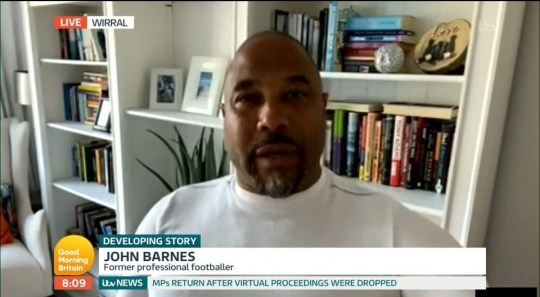 John Barnes on Good Morning Britain