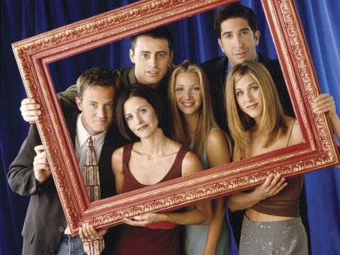 Friends writer discovers epic throwback picture of cast from first season and we're feeling nostalgic