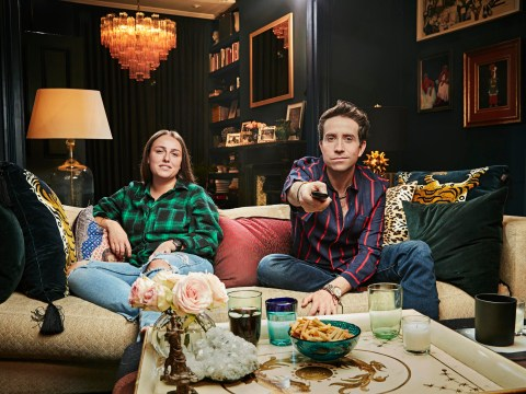 How Celebrity Gogglebox stars – including Nick Grimshaw and his niece – can film together while social-distancing