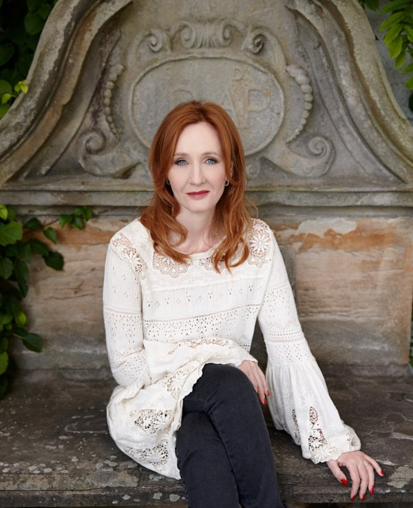 J. K. Rowling is seen in this undated handout photo obtained by Reuters on May 26, 2020. Debra Hurford Brown/ Handout via REUTERS THIS IMAGE HAS BEEN SUPPLIED BY A THIRD PARTY. NO RESALES. NO ARCHIVES MANDATORY CREDIT.