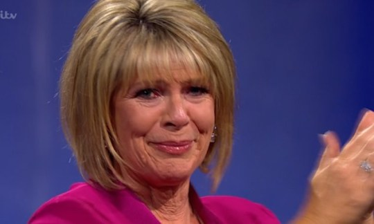 Ruth Langford cries over late father on Epic Gameshow.