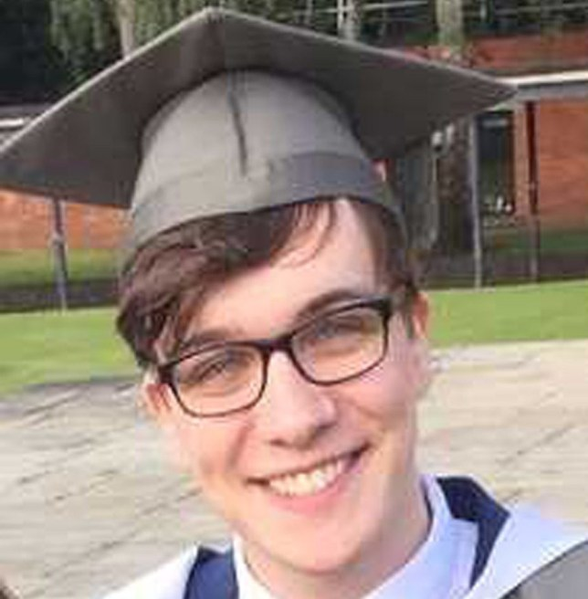 BEST QUALITY AVAILABLE Undated handout photo issued by West Yorkshire Police showing Lewis Howlett,25, a teacher at The Farnley Academy,Leeds, who died after going swimming in a stretch of the River Aire off Redcote Lane in Kirkstall. PA Photo. Issue date: Monday June 1, 2020. His death has prompted warnings about the dangers of swimming in open water. See PA story POLICE River. Photo credit should read: West Yorkshire Police/PA Wire NOTE TO EDITORS: This handout photo may only be used in for editorial reporting purposes for the contemporaneous illustration of events, things or the people in the image or facts mentioned in the caption. Reuse of the picture may require further permission from the copyright holder.