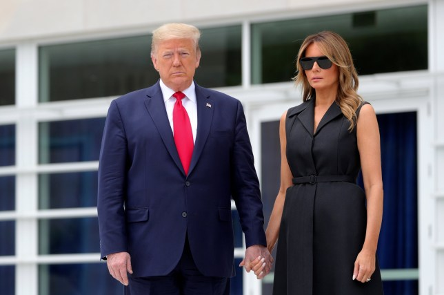 Photo de Donald et Melania Trump