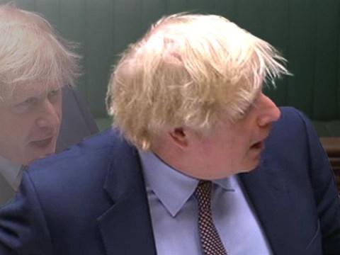 No, Boris Johnson did not wear an earpiece to PMQs