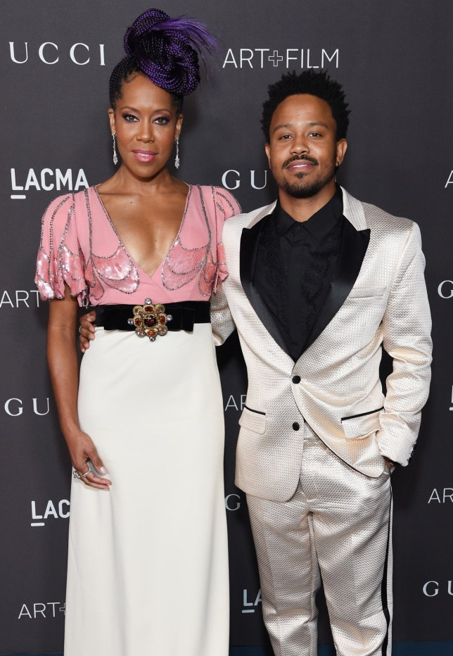 Regina King and her son Ian Alexander Jr.