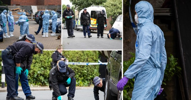 A two-year-old boy is in a serious condition in hospital after he was shot with a handgun. The child's mother, who is in her late 20s, along with two men in their late teens, were also taken to hospital with gunshot wounds following the attack in north-west London.