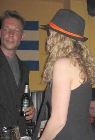 Madeleine McCann suspect Christian Brueckner 2011 in a bar in Hanover Facebook