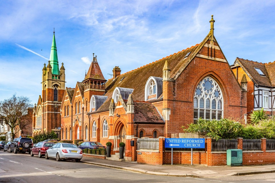 Spicer Hall, a converted church turned into an open-plan home, is now on sale for £1.4million