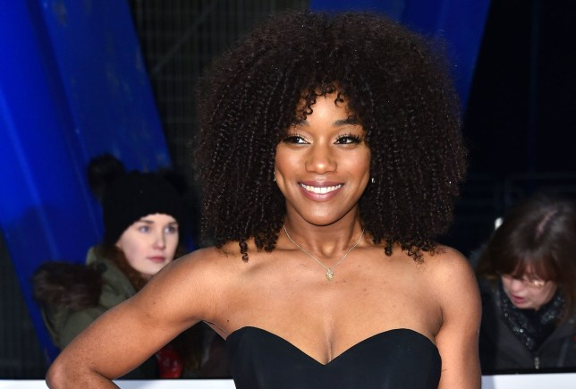 Rachel Adedeji attending the National Television Awards 2019 held at the O2 Arena, London