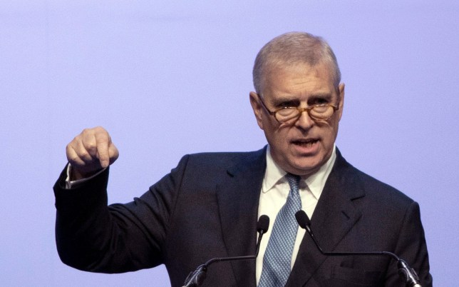 FILE - In this file photo dated Sunday, Nov. 3, 2019, Britain's Prince Andrew delivers a speech during the ASEAN Business and Investment Summit (ABIS) in Nonthaburi, Thailand. Attorneys representing Britain???s Prince Andrew have lambasted U.S. justice authorities, Monday June 8, 2020, for what they described as a violation of commitments to confidentiality in their discussions with him about the late sex offender Jeffrey Epstein.(AP Photo/Sakchai Lalit, FILE)