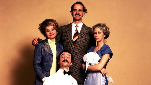 The cast of Fawlty Towers.