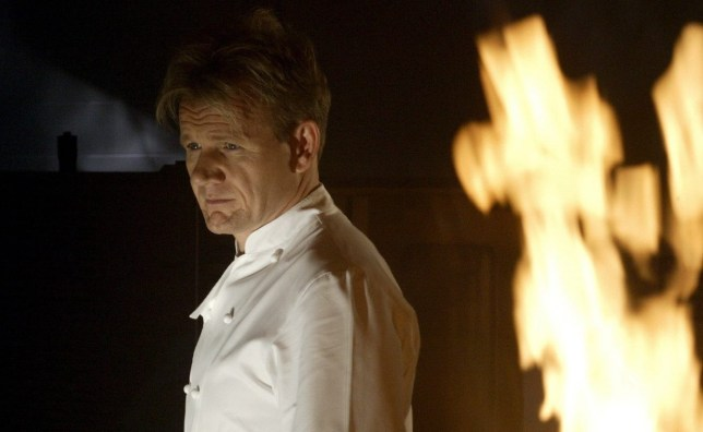 Gordon Ramsay in Hell's Kitchen UK