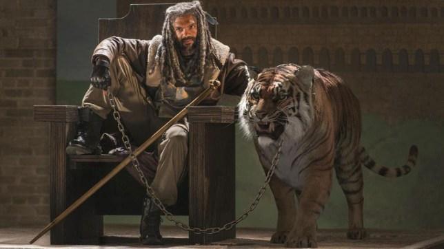 Khary Payton as Ezekiel in The Walking Dead