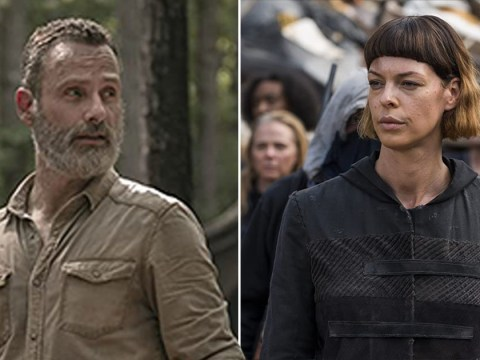 The Walking Dead's Pollyanna McIntosh teases what happens to Rick Grimes 'beyond the helicopter'