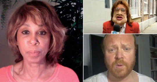 Trisha Goddard subject to more vile abuse after Leigh Francis apology over blackface in Bo'Selecta