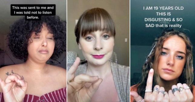 Female Tiktokkers are sharing the heartbreaking reality of women