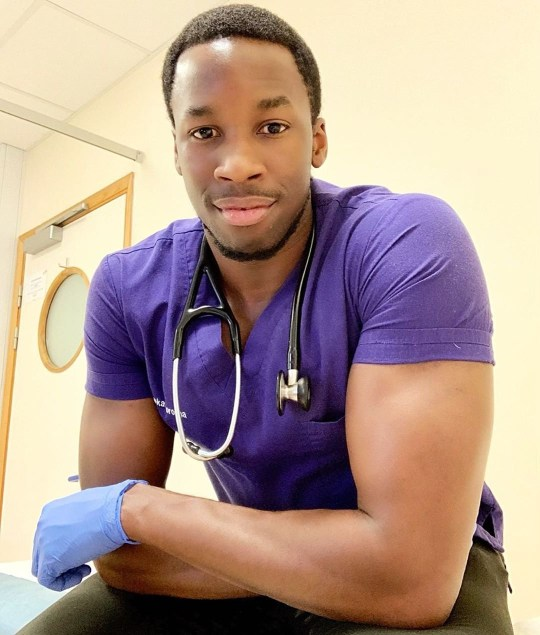 Black doctor asks 'respect me in my hoodie and my scrubs'