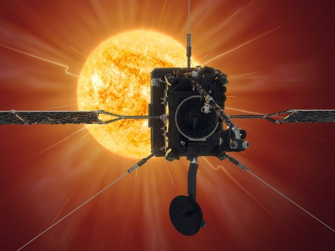 UK-built satellite to snap closest picture of the sun ever taken